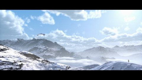 This is my first attempt to render volumetric clouds in a fragment shader. I started this shader by trying to model the clouds of Horizon Zero Dawn and render them using the integration method of volumetric media as described by Sébastien Hillaire (SebH).