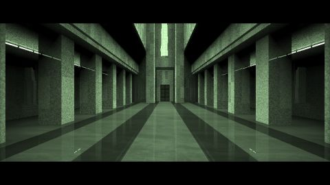 This is my Sig15 shader [url=https://www.shadertoy.com/view/MtsXzf][SIG15] Matrix Lobby Scene[/url]. I don't know why, but the original shader keeps crashing webgl on some windows machines. Therefore I made this version which uses multiple passes.