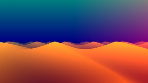 Psychedelic sand dunes in two tweets. Based on my shader [2TC 15] Minecraft ([url]https://www.shadertoy.com/view/4tsGD7[/url]). There are some chars left, so please give suggestions to improve this one!