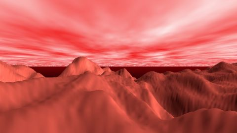 Tribute to Tim Clarke's Mars demo from 1993. Click and move your mouse to look around.  http://pouet.net/prod.php?which=4662&howmanycomments=25&page=0
