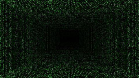 Matrix rain. View in full screen.