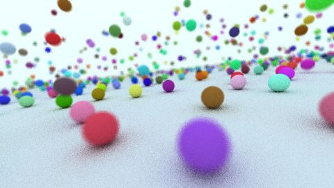 A simple pathtracer based on my shader https://www.shadertoy.com/view/lsX3WH showing motion blur, depth of field and importance sampling. Based on: http://www.iquilezles.org/www/articles/simplepathtracing/simplepathtracing.htm