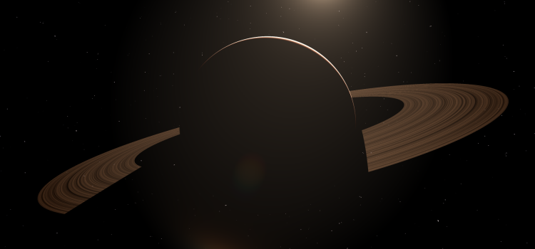 Rendering a planet with two triangles