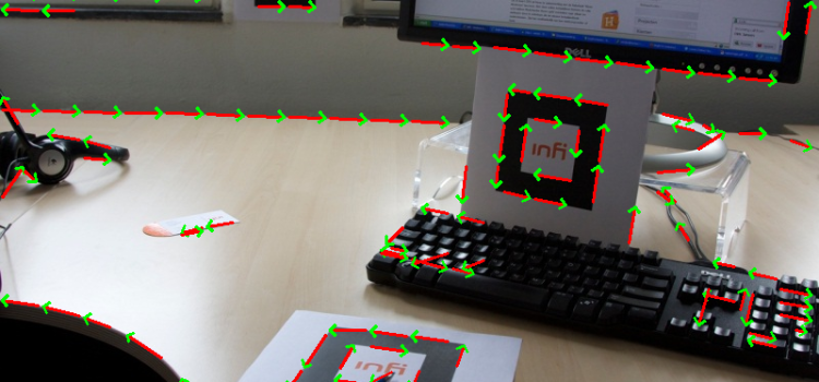 Marker Detection for Augmented Reality Applications