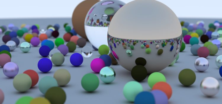 Raytracing in one weekend